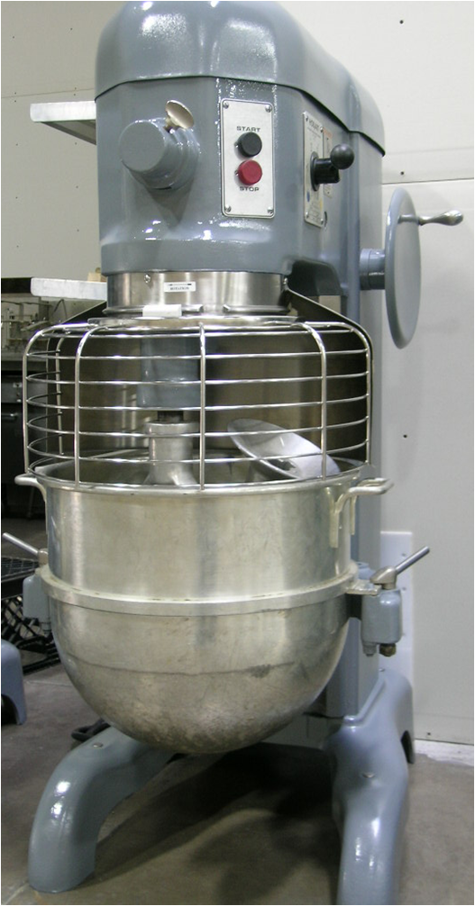 Hobart H-600 Mixer with Bowl Guard